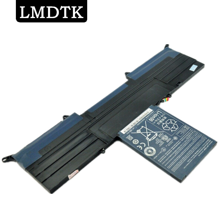 LMDTK New laptop battery For Acer Aspire S Series S3 Ultrabook 13.3 Inch S3-951 <font><b>AP11D3F</b></font> AP11D4F 3ICP5/67/90 Free shipping image