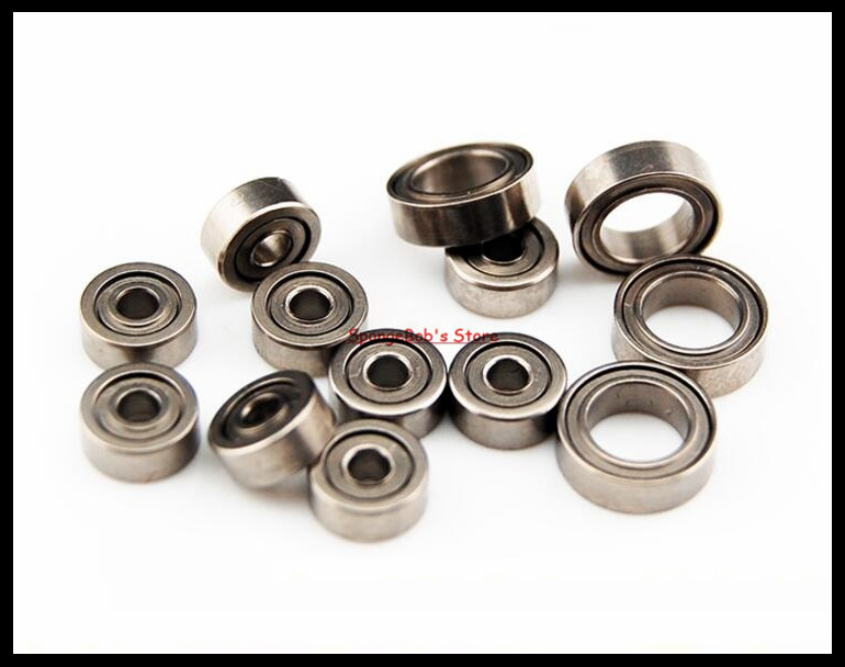 50pcs/Lot MR62ZZ  MR62 ZZ 2x6x2.5mm Thin Wall Deep Groove Ball Bearing Mini Ball Bearing Miniature Bearing