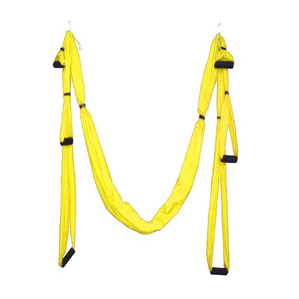 Hot Sale Parachute Fabric Swing Inversion Therapy Anti-gravity Aerial Yoga HammockHot Sale Parachute Fabric Swing Inversion Therapy Anti-gravity Aerial Yoga Hammock