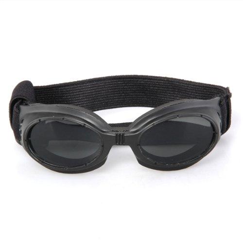 47af40043 Boutique Preto Emoldurado Pet Dog Proteção UV Óculos de Proteção Óculos De  Sol Eyewear