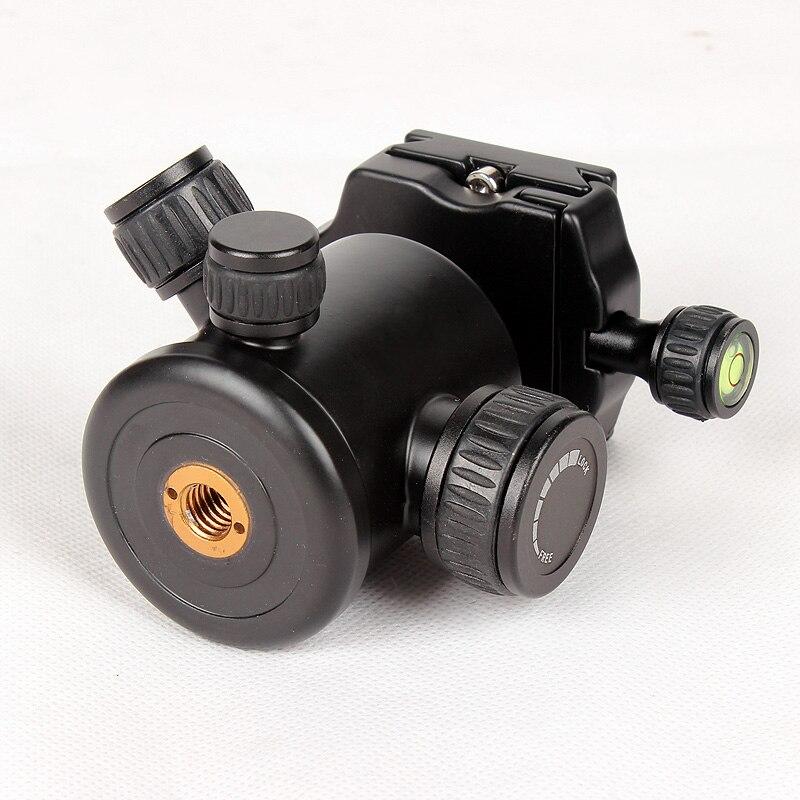 """Новинка QZSD Q02 Камера шаровая Головка для штатива-трипода из шаровая Головка трипода с пластиной быстрого крепления для камеры 1/4 """"винт Максимальная нагрузка 8 кг/оригинальный Q999 Q666 Штативная головка"""