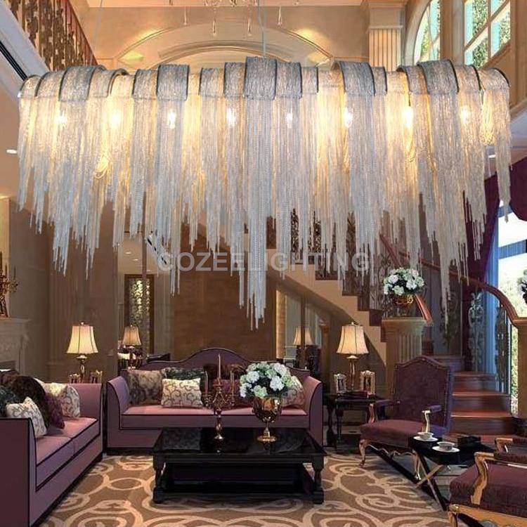 Antyczne luksusowe oświetlenie żyrandola Aluminiowe świeczniki z - Oświetlenie wewnętrzne - Zdjęcie 3