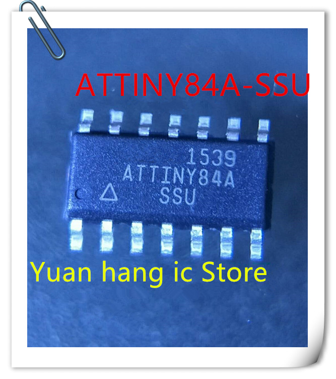 10PCS/LOT ATTINY84A-SSU ATTINY84A-U ATTINY84A ATTINY84 SOP-14 IC New Original