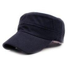 Vendita calda Unisex Classic Plain Cap Army Vintage Protezione Del Cadetto  Del Cappello Militare Patrol Cap 48b4518fccf6