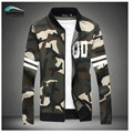 2017 spring new camouflage jacket baseball shirt male fashion men's clothing plus size code M-5XL