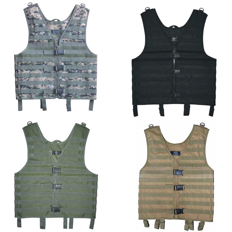 Tactical Vest Airsoft Combat Shooting Molle Vest Outdoor Hunting Assault Waistcoat 011604 tmc transformers cqb lbv molle vest military airsoft paintball combat assault cs field protection vest free shipping