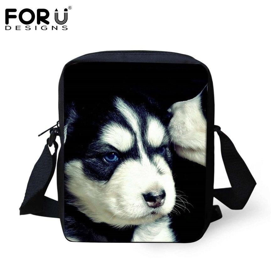 FORUDESIGNS/женская маленькая сумка через плечо с объемным рисунком собаки чихуахуа, модные женские сумки-мессенджеры, сумки через плечо - Цвет: H371E