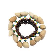 GECKO Handbell Handmade Bracelet Nutshell Wrist Bell for Djembe African Box Drum Percussion Musical Instrument Parts Accessories mcewan i nutshell