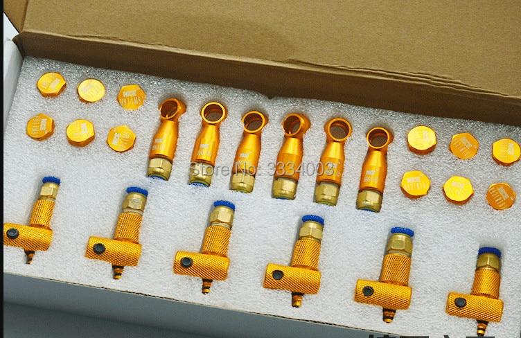 Inyector Common Rail diesel retorno conector, Common Rail inyector retorno de aceite