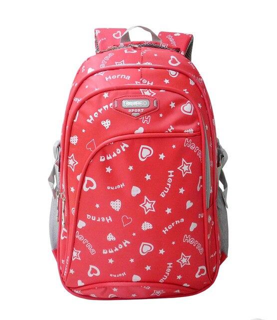 Мода Девушка Школьная Сумка Водонепроницаемый легкий Вес Девочек Рюкзаки сумки печать рюкзак ребенка школьный дети книга сумка mochila ортопедический рюкзак школьные рюкзаки для девочек детский рюкзак школьный рюкзак