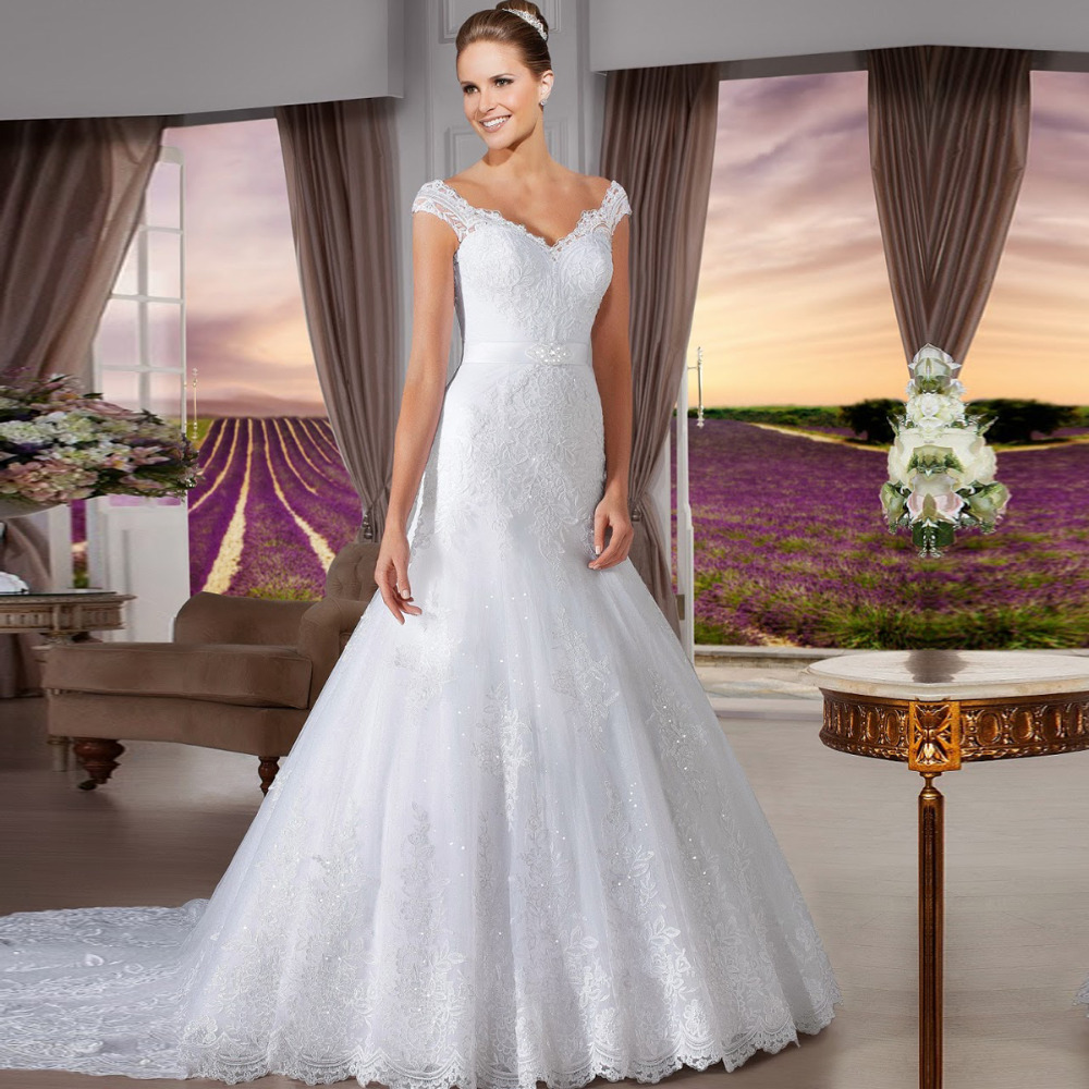 Vintage Wedding Dresses For Sale: Hot Sale Mermaid Wedding Dress Vernassa Vestido De Novia