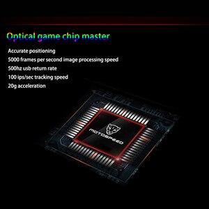 Image 5 - Motospeed V80 RGB المهنية 5000 ديسيبل متوحد الخواص ألعاب الألعاب ماوس USB الكمبيوتر المعصم الفئران البصرية الخلفية التنفس LED للكمبيوتر المحمول