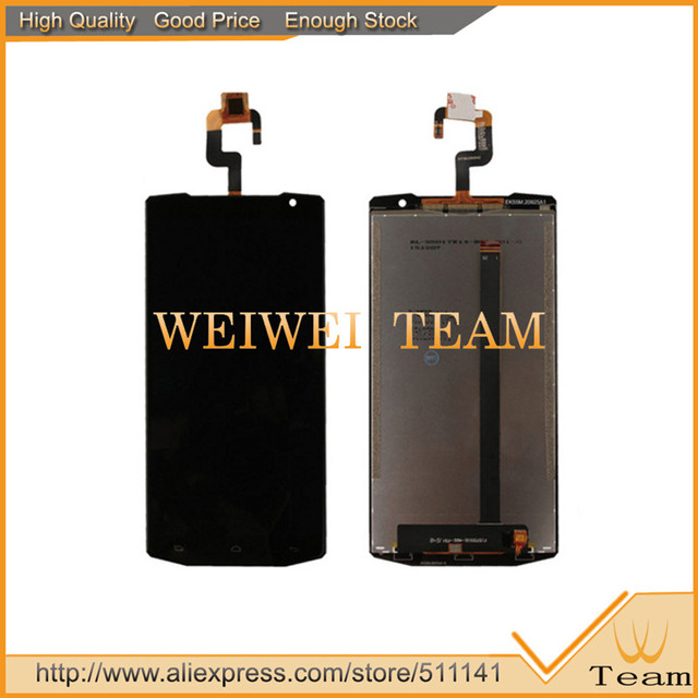 Replacement For Oukitel K10000 Touch and Lcd Screen Black Assembly