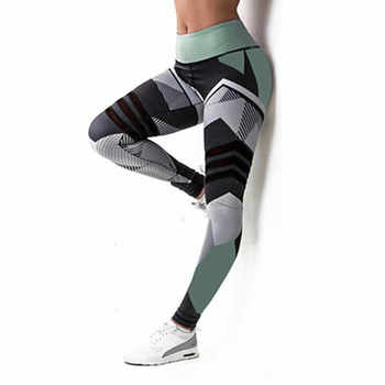 Yoga Pants S-XL Plus Size Leggings Women Sport Pants Running Jogging Fitness Yoga Leggings Fitness High Elastic Gym Leggings 1