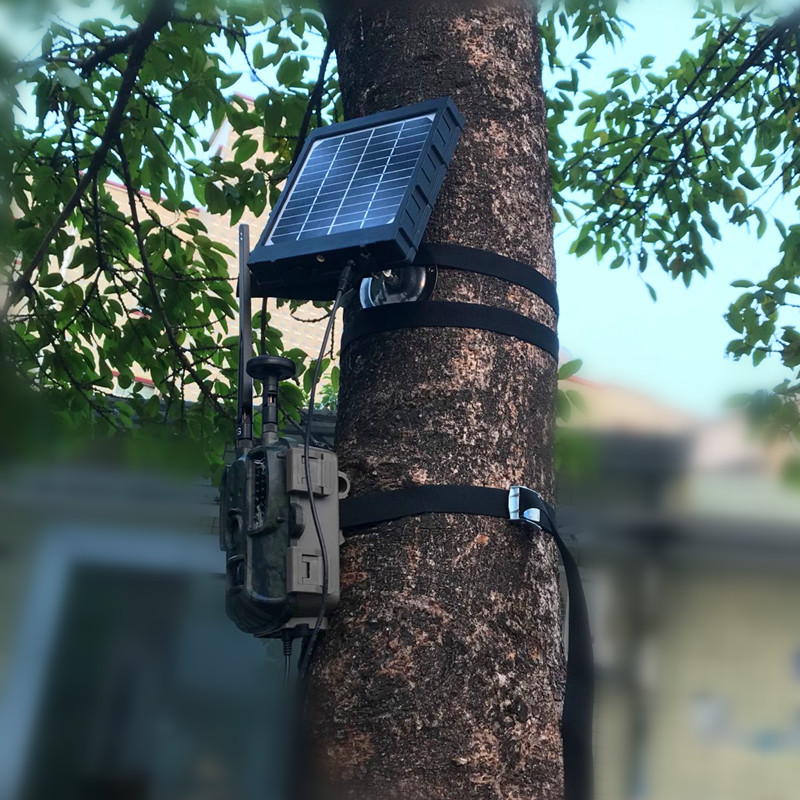 GPS 4G Hunting Camera Solar Panel Charger 3W BL480L P Photo traps Solar Panel 3000mAh Aluminum Battery Polymer for Hunter Camera