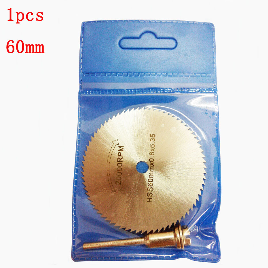 60mm 6.35 Metal Cutting Disc Dremel Rotary Tool Circular Saw Blade Dremel Cutting Tools For Woodworking Tool Cut Off