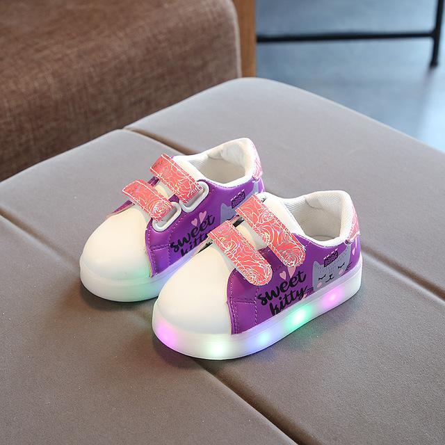 Chaussures Led de sport enfant
