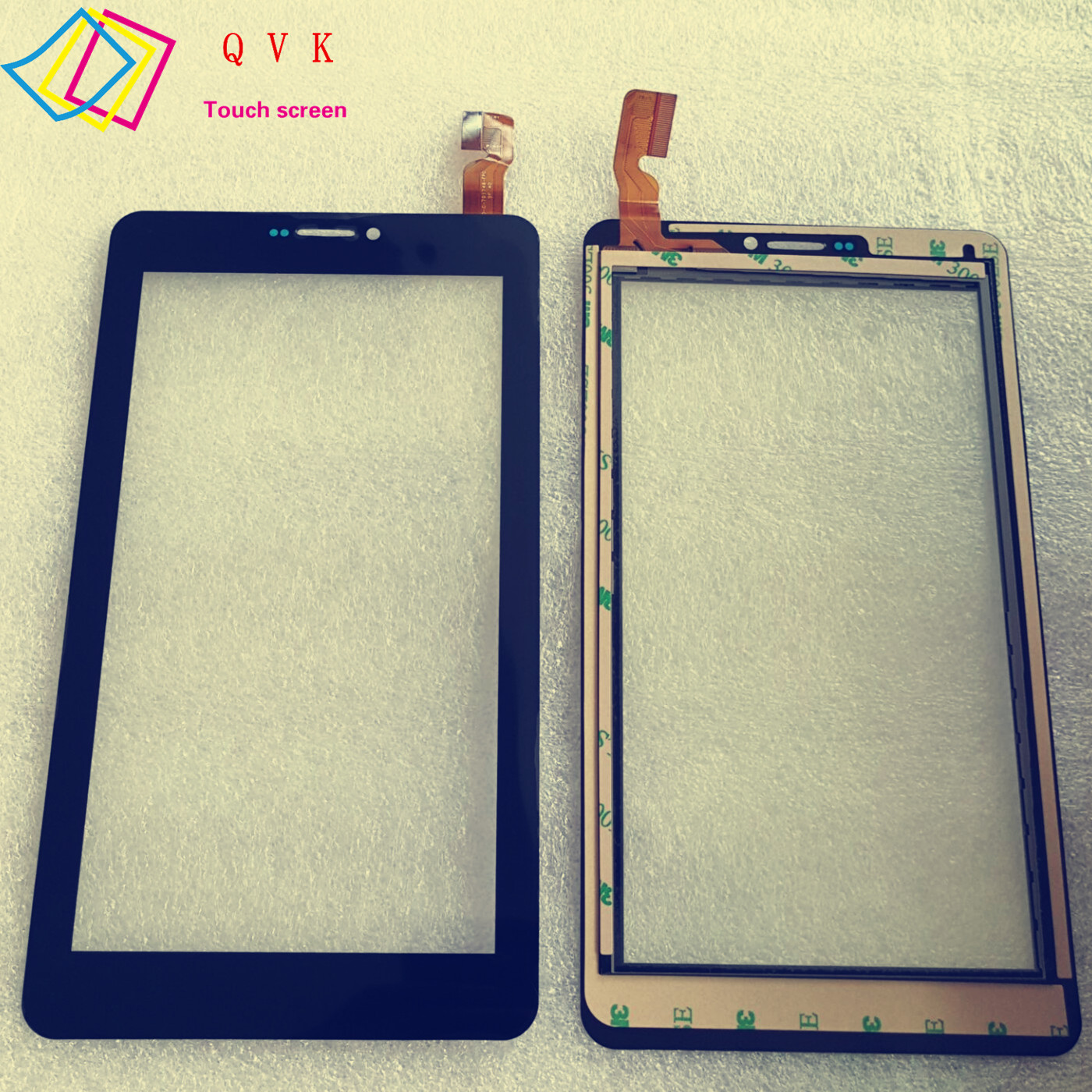 black 7inch for Explay D7.2 3G replacement tablet touch panel touch screen digitizer glass 5 7 inch touch for 6av6 640 0da11 0ax0 k tp178 touch screen panel glass