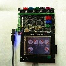 МКС Gen L V1.0 + МКС TFT28 ЖК-дисплей minipanel трогательно дисплей дешевые Объёмный рисунок (3D-принт) школьных комплектов контроллер openbuilds для 3d принтер стартер