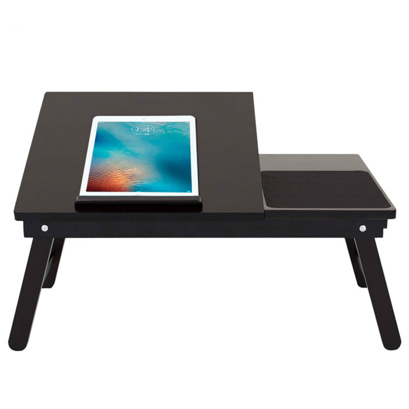 High Quality Wooden Laptop Table Multipurpose Home Computer Desk Students Dormitory Beds Folding Laptop Tables