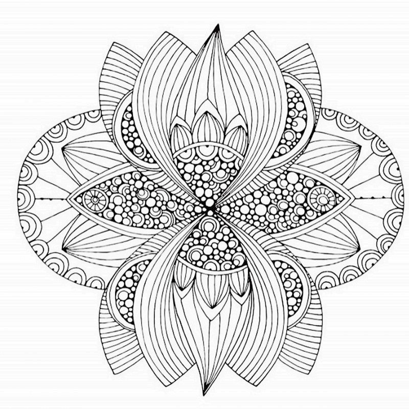 Mandalas Fantasy Creative Coloring Book Relieve Stress Kill Time Graffiti Painting Drawing Antistress Art Adult Books In From Office School