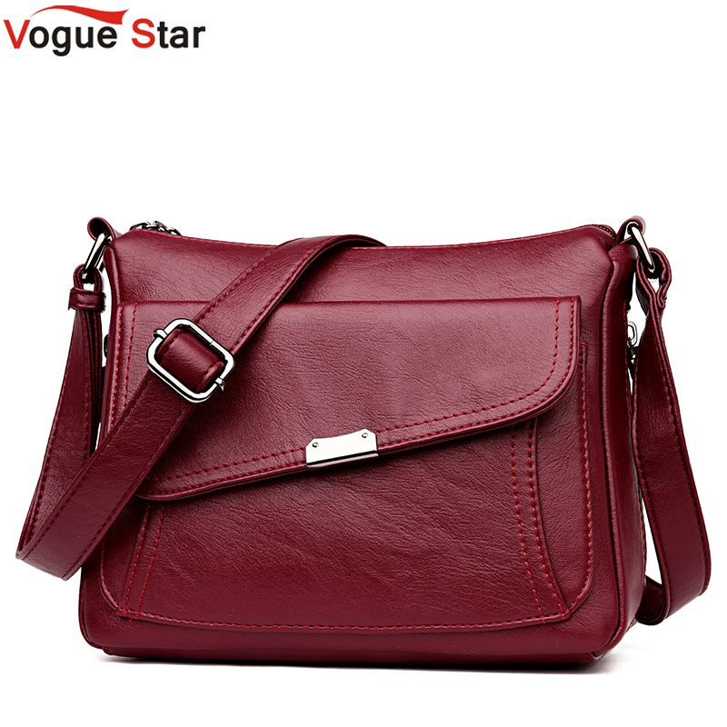 Female Flap Bag 2019 Soft Leather Luxury handbags Women bags Designer  Shoulder bags for women crossbody 1eabdd8054059