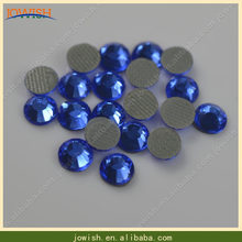 Wholesale 200 gross   bag ss16 Sapphire korean Crytsals And Stones Strass  Hotfix Rhinestone Iron On Rhinestones For Dress 41017b598525