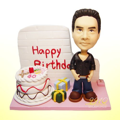 Personalize Birthday Gifts Unique Presents Gift Idea 100 Custom Made Of Polymer Clay Sculpture