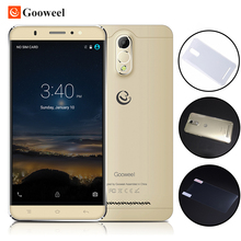 Gooweel m3 3g handy 6,0 zoll ips-bildschirm mtk6580 quad core Smartphone 1 GB Ram 8 GB Rom 8MP kamera GPS-Handy Geben Fall