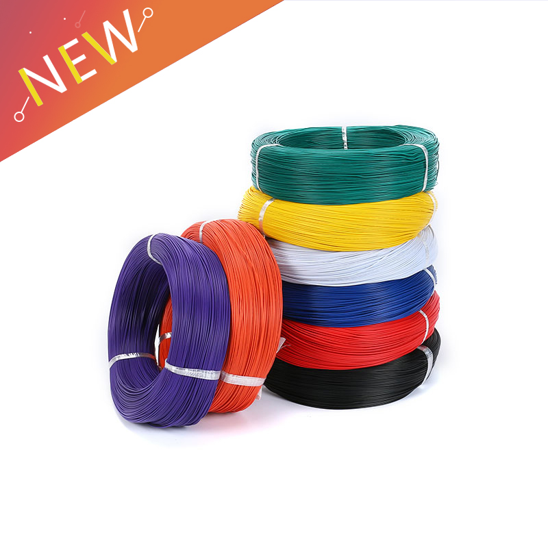 10 Meters <font><b>UL1007</b></font> PVC Wire Ultra Flexiable Cable 24AWG Wire 1.4mm PVC Electronic Cable UL Certification image