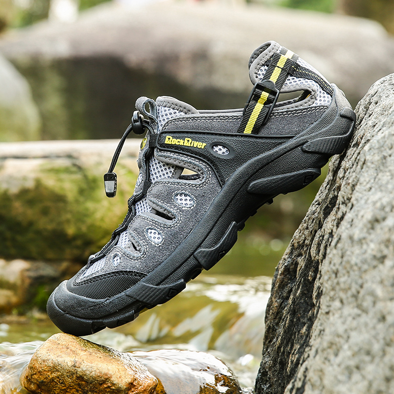 Trail Hiking-Sandals Trekking 46-Sneakers Outdoor Breathable 45 Summer Men Big-Size