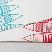 2016 Новый 100x150 см 100% хлопок Холст ткань Фэн-Шуй сайра группа ручной льняной ткани DIY ткань ткани утолщенный занавес
