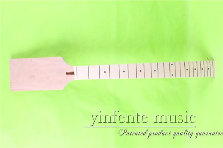 0055 # 24.75 Ηλεκτρικός λαιμός κιθάρας Βιδωτό πινέλο σφενδάμου υψηλής ποιότητας 22 fret