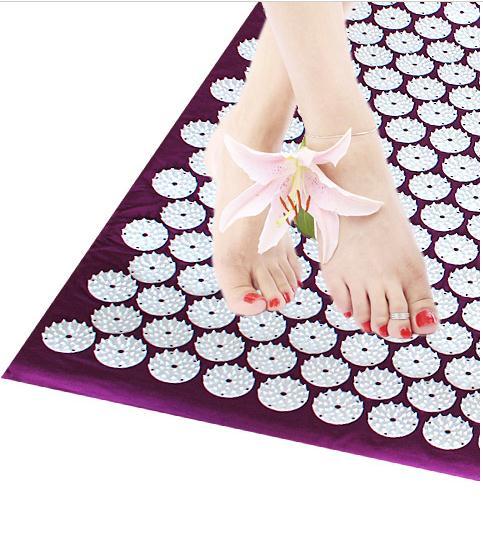 @1  Охрана здоровья акупунктуры ног массажная подушка относится к соединению кусок массаж ног одеяло ков ①