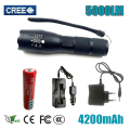 Lanterna Flashlight CREE XM-L2 5000lm LED Torch Zoomable Linternas LED Flashlight Tactical flashlight For 3xAAA or 1x18650