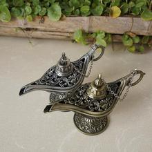 Горячие Продажи Сказка Алладин и Волшебная Лампы Чайник Genie Лампы Старинные Игрушки Украшения Дома Для Детей Подарки