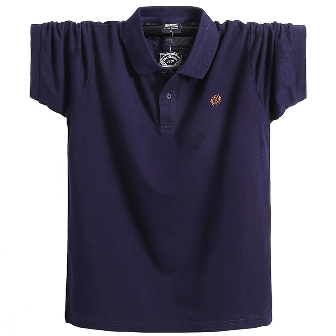 New <font><b>Men</b></font> <font><b>Polo</b></font> <font><b>Shirt</b></font> short sleeve plus size 6xl 7xl <font><b>8xl</b></font> <font><b>men</b></font> Solid <font><b>Polo</b></font> <font><b>Shirts</b></font> Camisa Homme Plus Size Business Tops Tees image