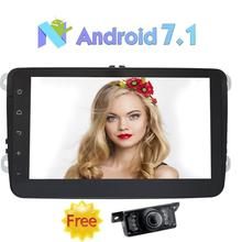 Eincar Car GPS Navigation Autoradio Android 7.1 Car Stereo 2 Din 8″Head Unit for Volkswagen Support GPS/AM/FM Radio+Free Camera