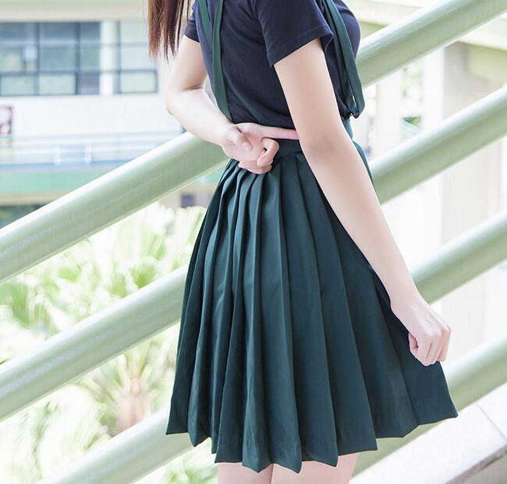 Work Wear & Uniforms Novelty & Special Use Energetic Uphyd Korean School Uniform Girls Short Sleeve White Shirt+black Skirt Jk Navy Sailor Suit For Students School Uniform Japanese Elegant In Style