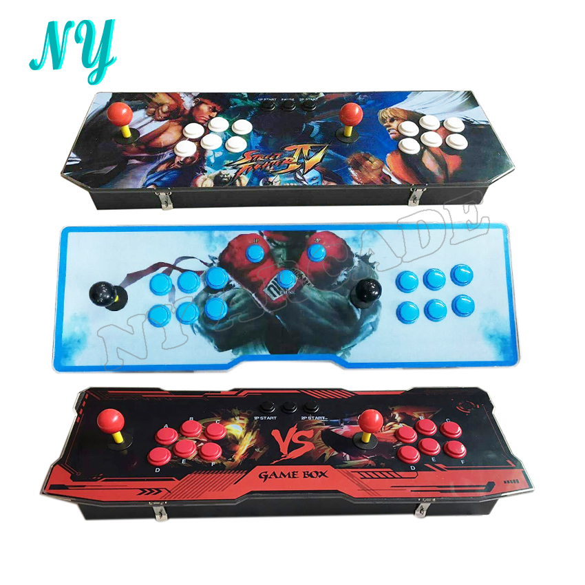 Video game box 4S 680 in 1 new design Home Arcade Game Console for TV & Monitor Support HDMI and VGA Output with Pause function