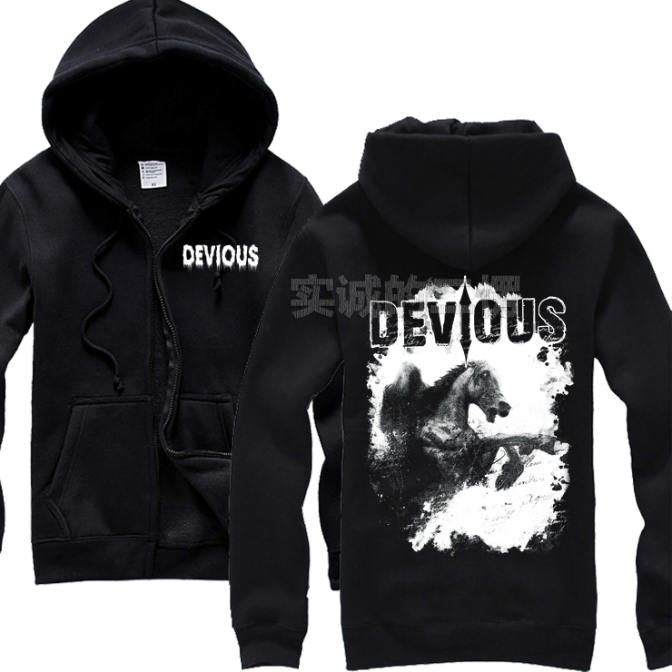 Veste Sournois Sweat Survêtement Hoodies Shell Métal 2 Noir Conceptions Rock 2 Sweat Chevalier Polaire Zipper 1 shirt Hardrock Punk YwPF5q