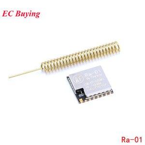 Sx1278 Ra-01 módulo sem fio lora spread spectrum transmitância sem fio módulo 433 mhz porta serial uart interface ra01