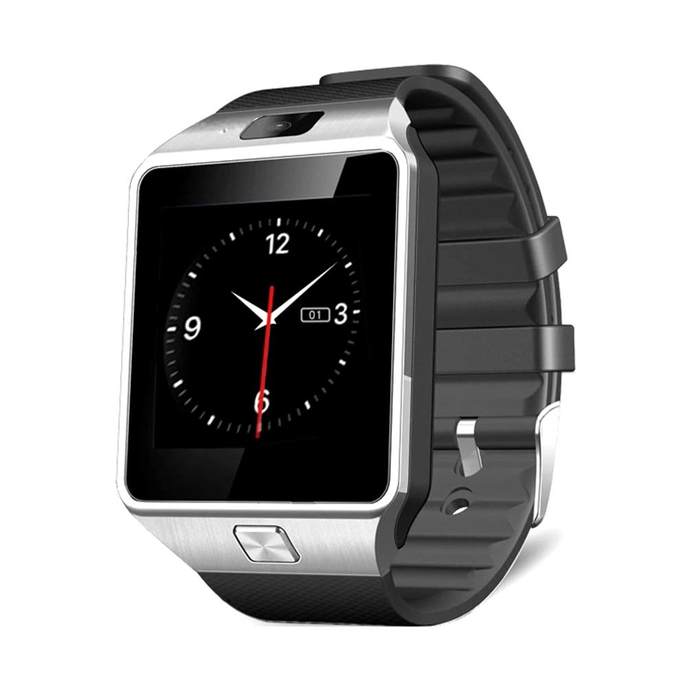 imágenes para Venido con la caja! nueva Tienda de Bajo Precio Bluetooth Smartwatch dz09 Reloj Inteligente Con Cámara Reloj de la Tarjeta SIM Para Ios Android Teléfono