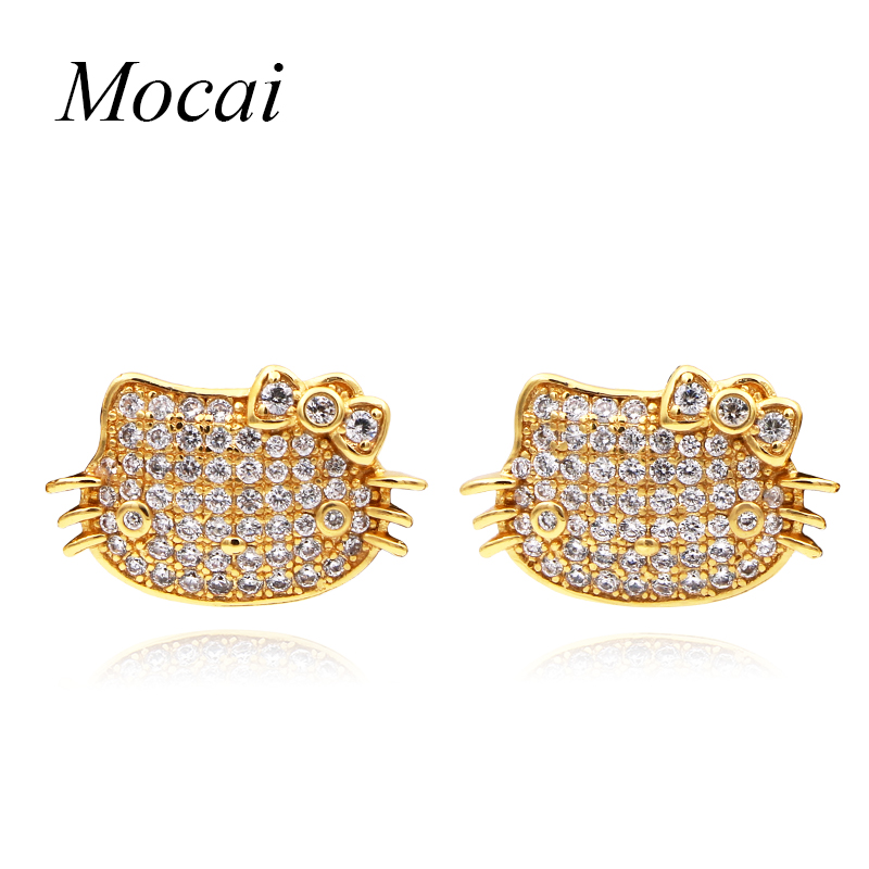 Mocai Latest Style Animals Shape Cat Stud Earring For Women Fashion