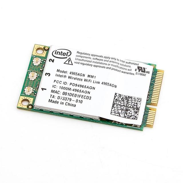 INTEL WIRELESS WIFI LINK 4965AGN PCI DRIVERS (2019)