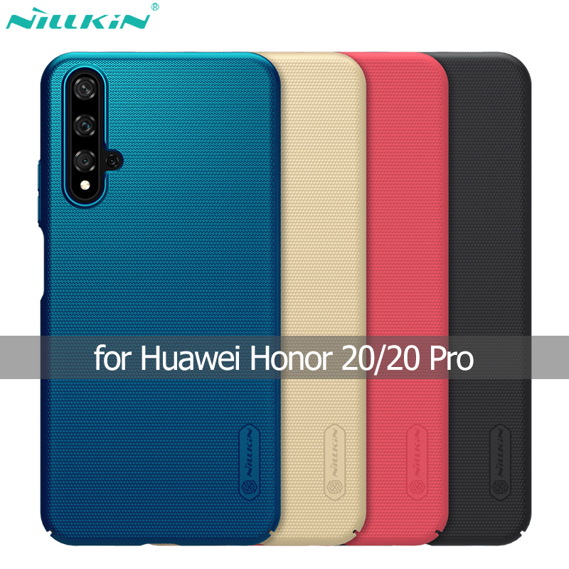 Nillkin Matte-Cover Super-Frosted-Shield 20-Case Huawei Honor For PC Hard-Back Pro-Shell
