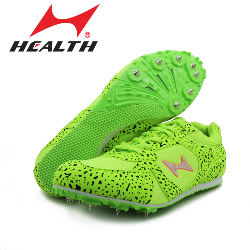 Health track and field for men spike nail shoes Student training sprint athletics Track & Field Shoes 2016 sneakers size 33-45 gogoruns men sprint spikes running shoes boy students examination track and field nail shoes sneakers men