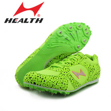 Health track and field for men spike nail shoes Student training sprint athletics Track & Field Shoes 2016 sneakers size 33-45(China)