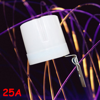Newest 220V 25A Dusk Till Dawn Automatic Photocell Light Sensor Detector Switch Lights Switch Controller Free