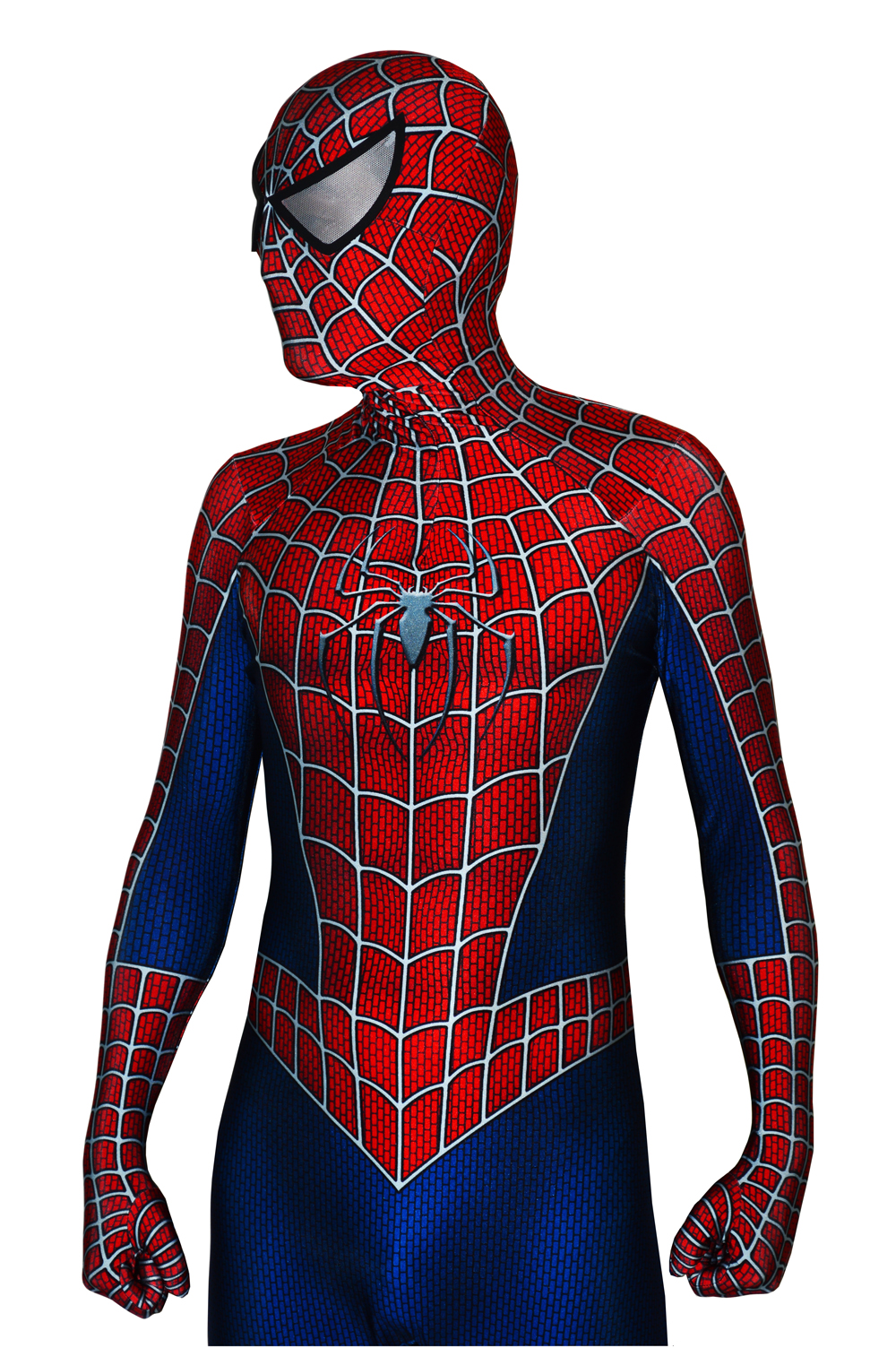 2019 Spiderman Raimi Costume 3D Print Halloween Zentai Suit Spiderman Cosplay Bodysuit Free Shipping